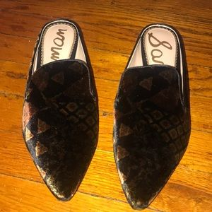 Worn only once sam edelman mules
